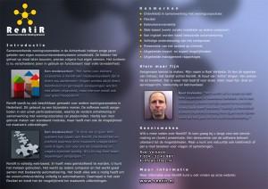RentiR brochure, binnenpagina